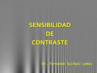 Dr. Fernando  Guiñazú  Lemos