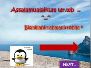 Assalamualaikum wr.wb  .. ^_^