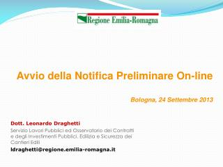 Dott. Leonardo Draghetti