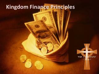 Kingdom Finance Principles