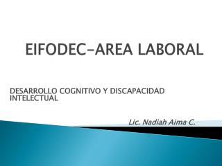 EIFODEC-AREA LABORAL