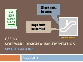 CSE 331 Software Design & Implementation specifications