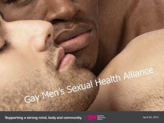 Gay Men's Sexual Health Alliance