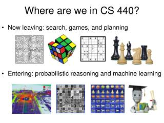 Where are we in CS 440?