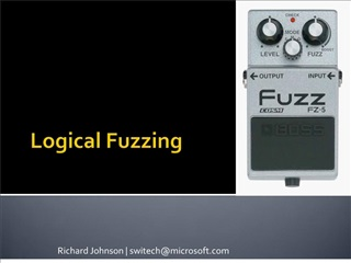 Logical Fuzzing