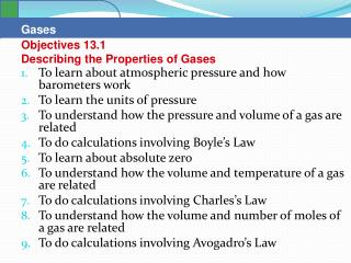 To learn about atmospheric pressure and how barometers work  To learn the units of pressure