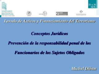 Lavado de Activos y Financiamiento del Terrorismo   Conceptos Jur dicos   Prevenci n de la responsabilidad penal de los