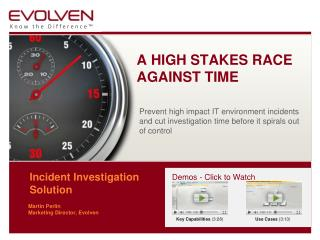 Incident Investigation  Solution