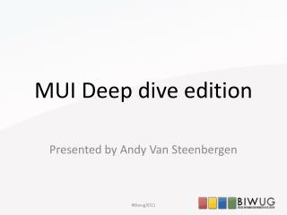 MUI Deep dive edition