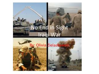 No End in Sight Iraqi War