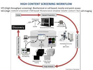 High content screening workflow