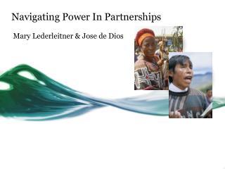Navigating Power In Partnerships