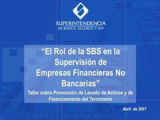 REPORTES DE OPERACIONES SOSPECHOSAS DE ENTIDADES SUPERVISADAS