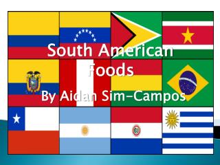 South American Foods