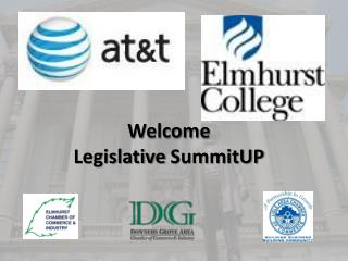 Welcome Legislative  SummitUP