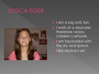 JESSICA EGER