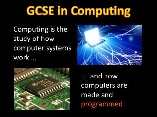 GCSE in Computing