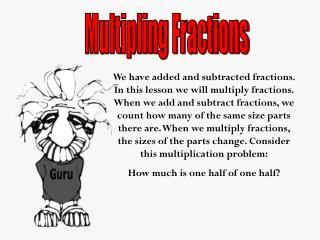 Multipling Fractions