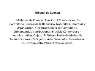 Contencioso-administrativo Definición