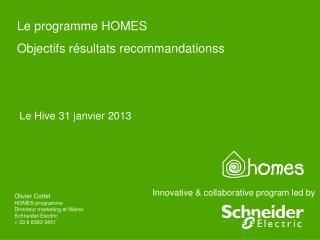 Innovative & collaborative program led by