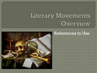 Literary Movements Overview
