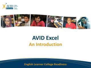AVID Excel