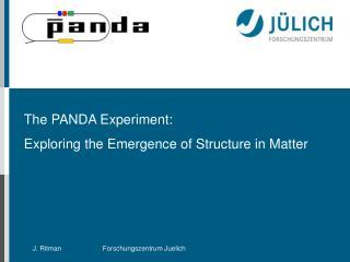 Hadron Physics with PANDA