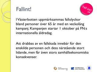 Fallint !
