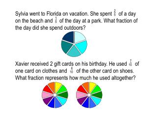 NOTES:  Adding Fractions