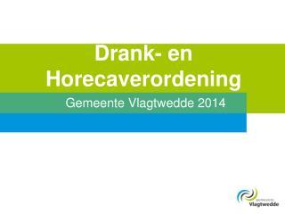 Drank- en Horecaverordening