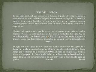 CERRO EL LLORON
