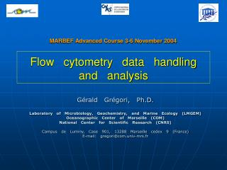 Flow cytometry data handling and analysis