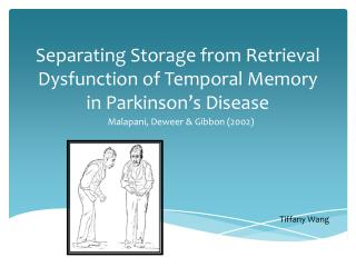 Separating Storage from Retrieval Dysfunction of Temporal Memory in Parkinson's Disease