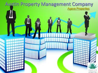Austin Property Management Company Agave Properties