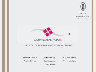 KU Leuven Academiejaar 2011-2012 Praktijkoriëntatie