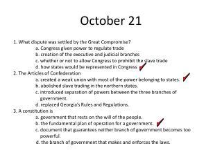 October 21