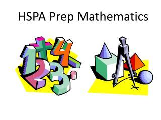 HSPA  Prep Mathematics