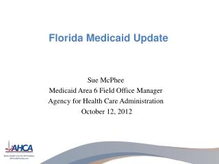 Florida Medicaid Update