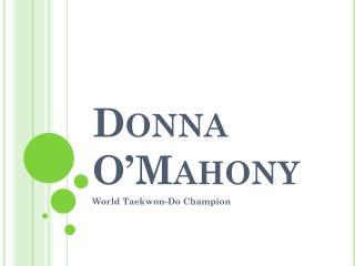 Donna  O'Mahony