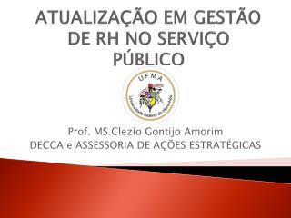 ATUALIZA  O EM GEST O DE RH NO SERVI O P BLICO