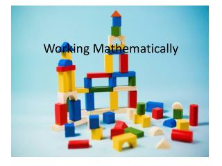 Working Mathematically