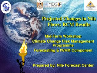 Projected Changes in Nile Flows: RCM Results