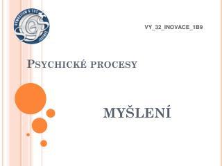 Psychické procesy