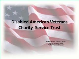 Disabled American Veterans Charity  Service Trust
