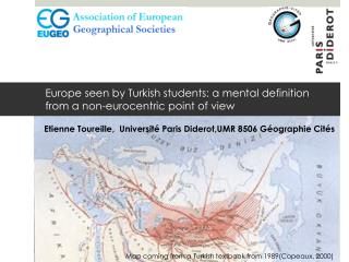 Europe  seen  by  Turkish students : a mental  definition from  a non- eurocentric  point of  view