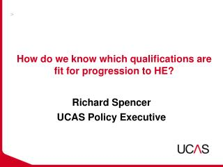 How do we know which qualifications are fit for progression to HE?