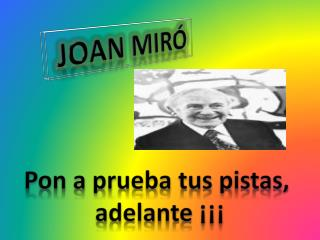 Joan Mir�