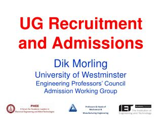 UG  Recruitment and Admissions