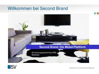 Willkommen bei Second Brand