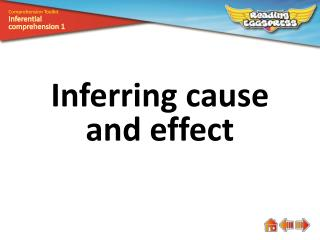 Inferring  cause  and  effect